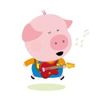 El cerdo que quería ser cantante