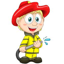 nio que quera ser bombero