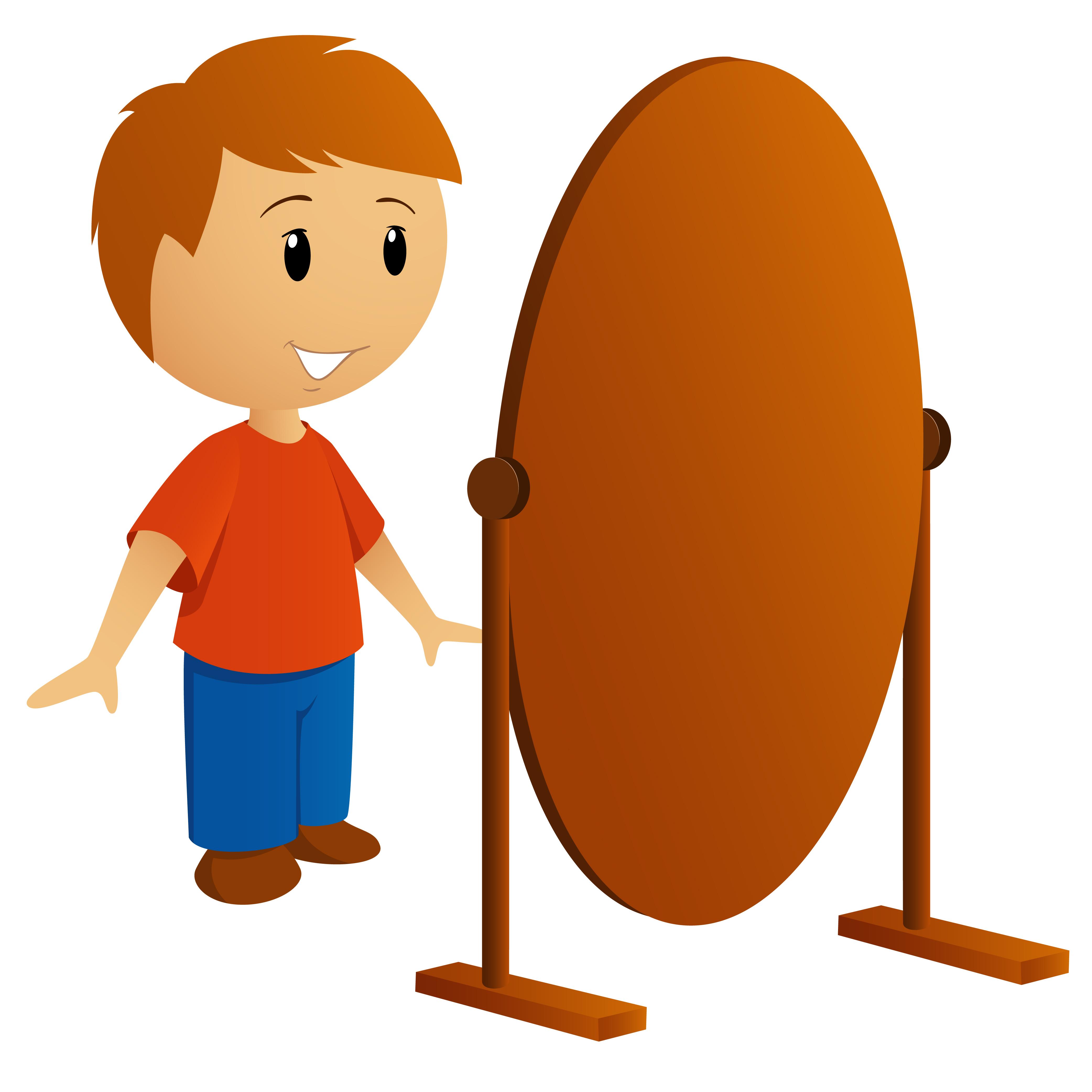 El espejo misterioso for Espejo de pared cuerpo entero