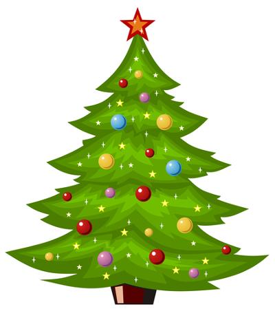 El primer rbol de Navidad