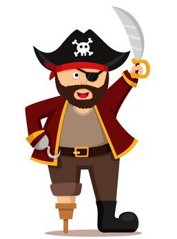 Valent n y el pirata malaspulgas - Pirata colorazione pirata stampabili ...