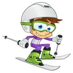 Una tarde de esquí