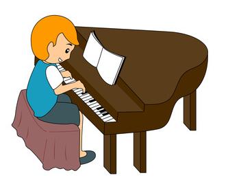 El cumpleaños de Fred, el niño pianista