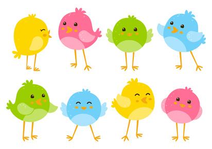El día que los pájaros quisieron tener plumas de colores