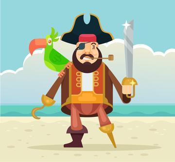 El pirata Paralata y la maldición de la linterna