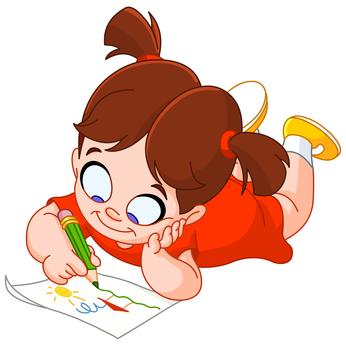 Laura recordó lo que su madre le había explicado la tarde anterior y ... Happy Child Clipart